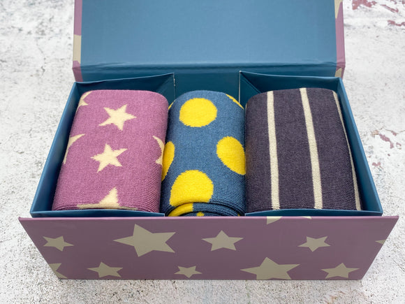 Boxed Set of Bamboo Socks