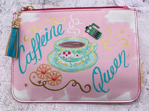 Caffeine Queen Pouch/Purse