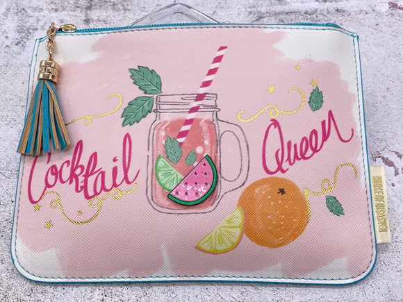 Cocktail Queen Pouch/Purse