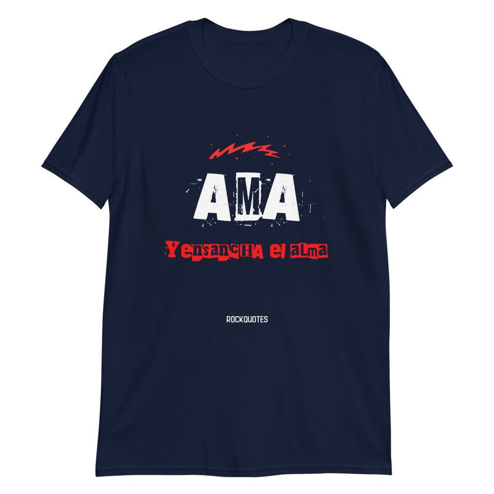 Camiseta AMA - Rock Quotes