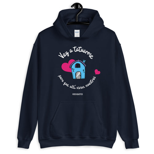 Sudadera TATUAJE CASITA (+ colores) - Rock Quotes
