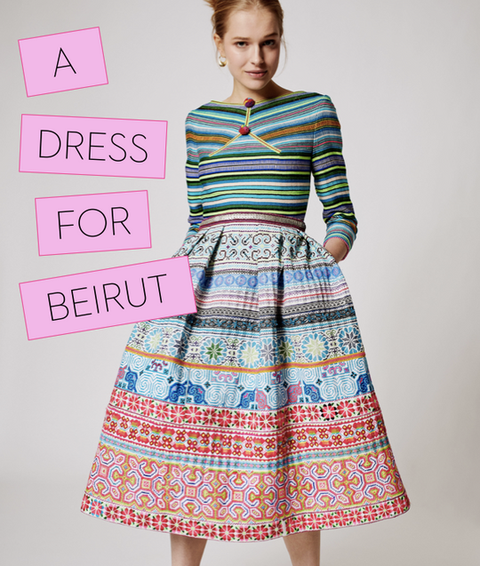 A DRESS FOR BEIRUT