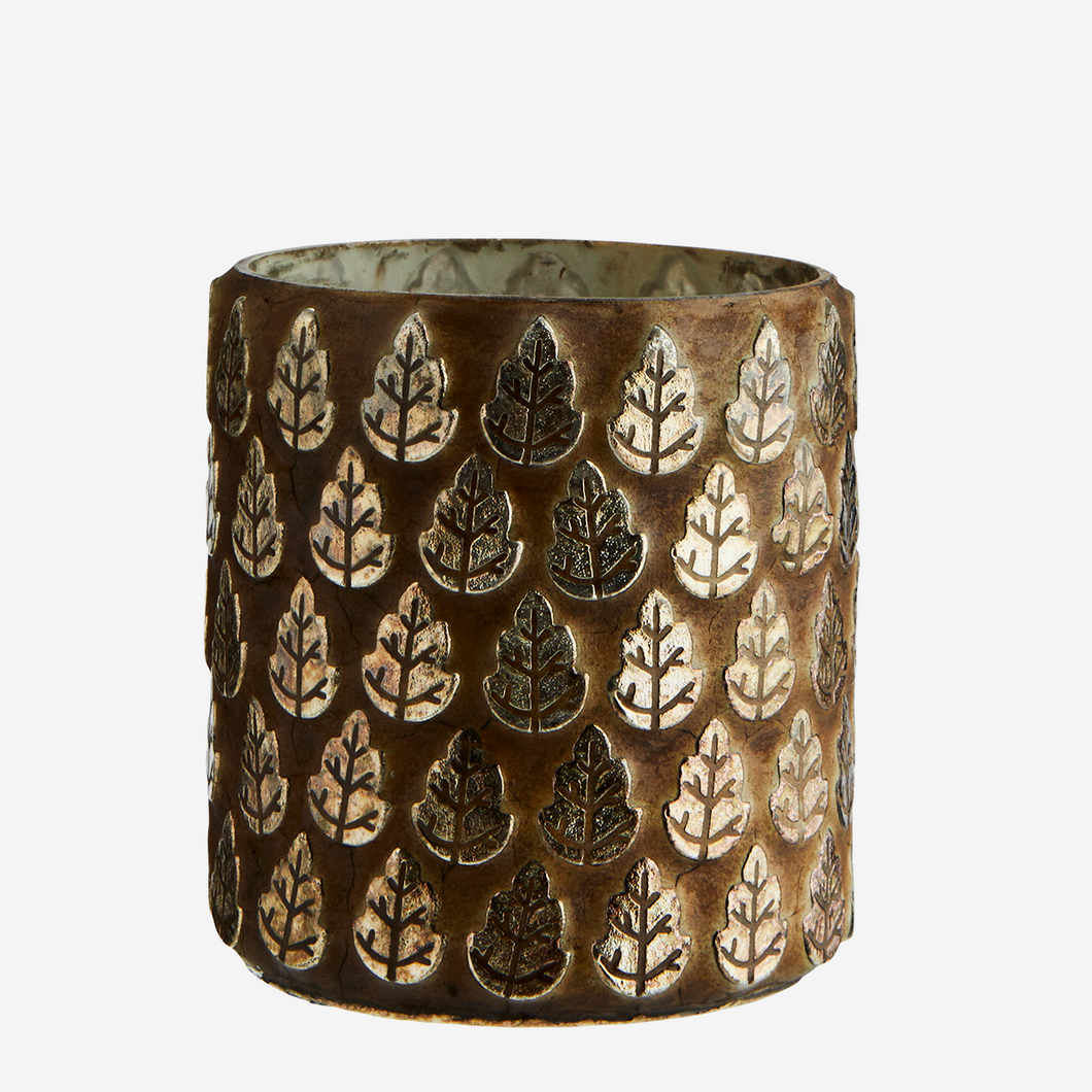 Candle holder Leaf