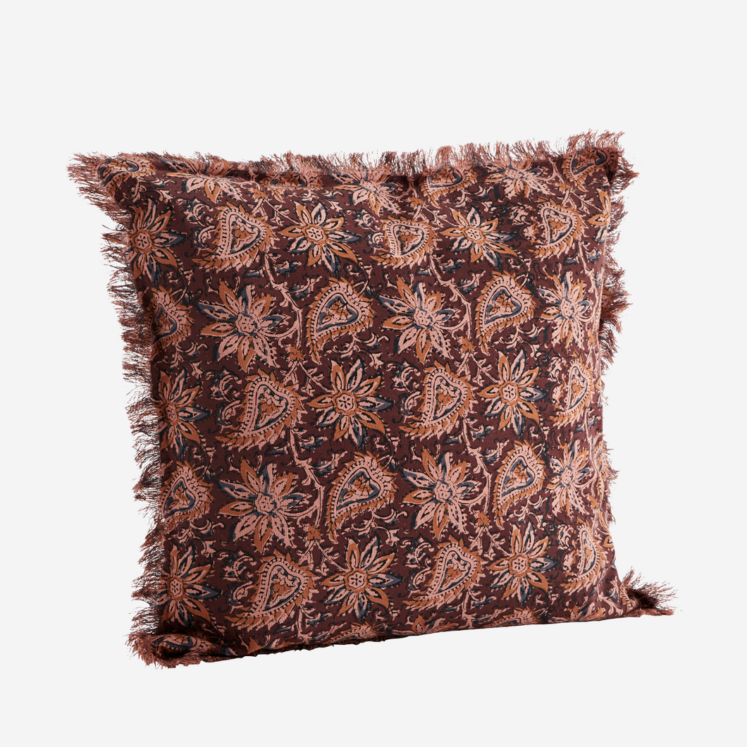 Cushion cover fringes