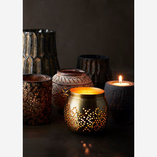 Load image into Gallery viewer, Tea light holder brass
