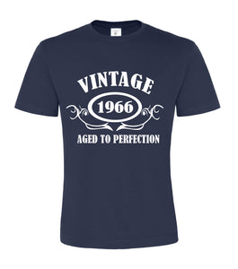Personalised Year Vintage Unisex T-shirt