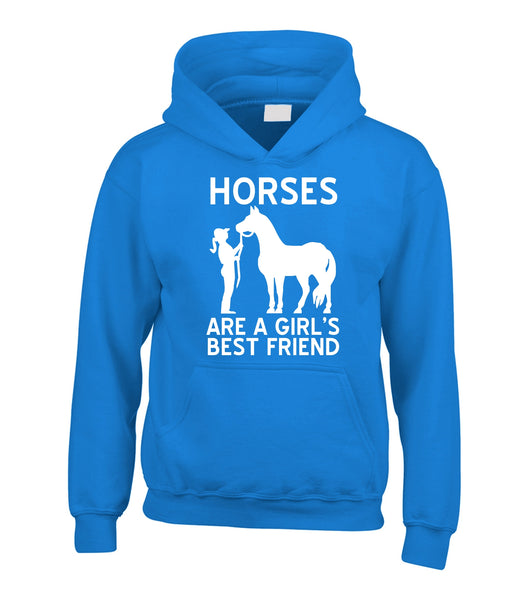 Horses are a girls best friend Hoodie