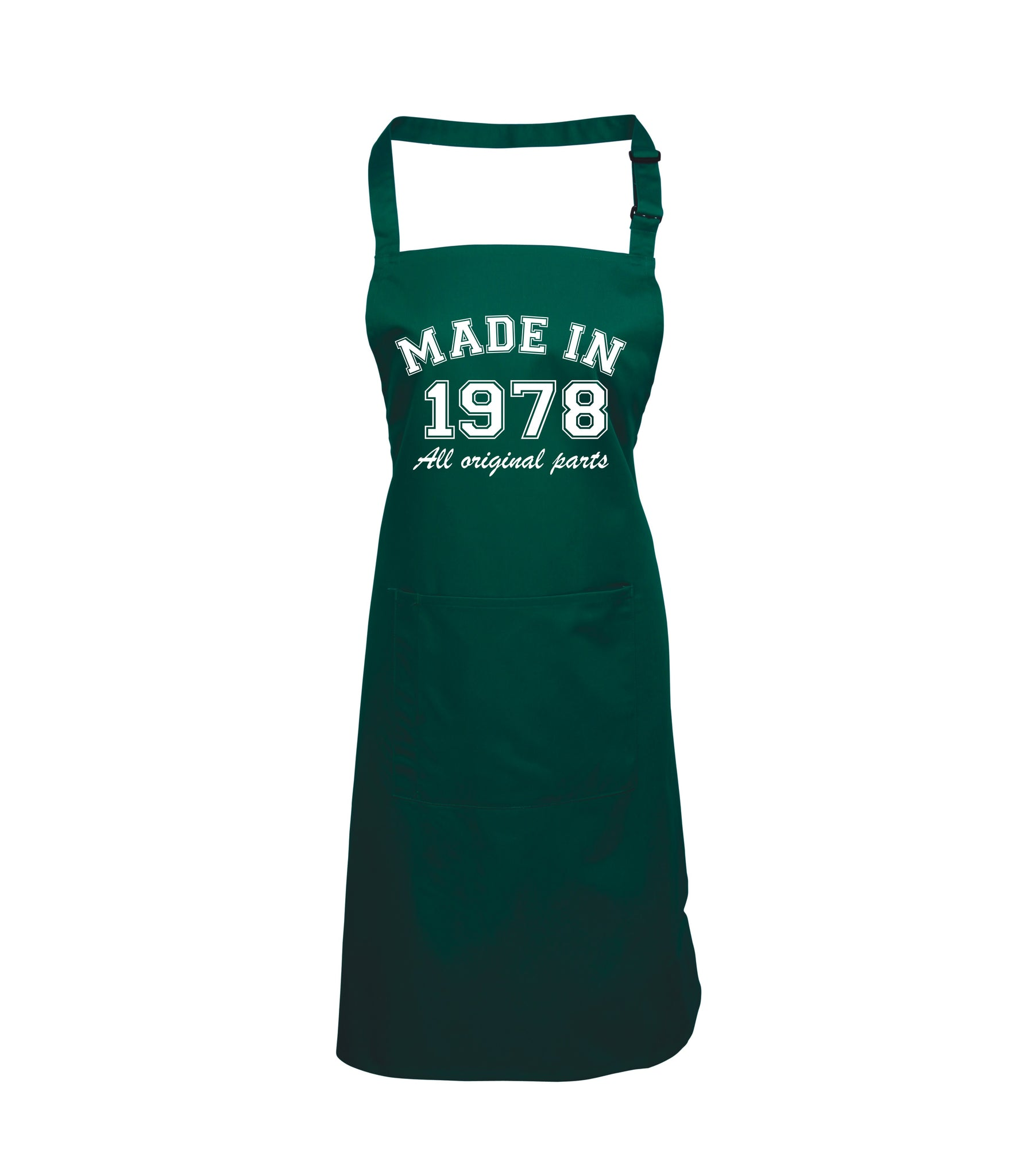 Personalised Year Made In Apron