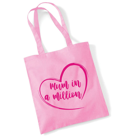 Mum in a Million Tote Bag