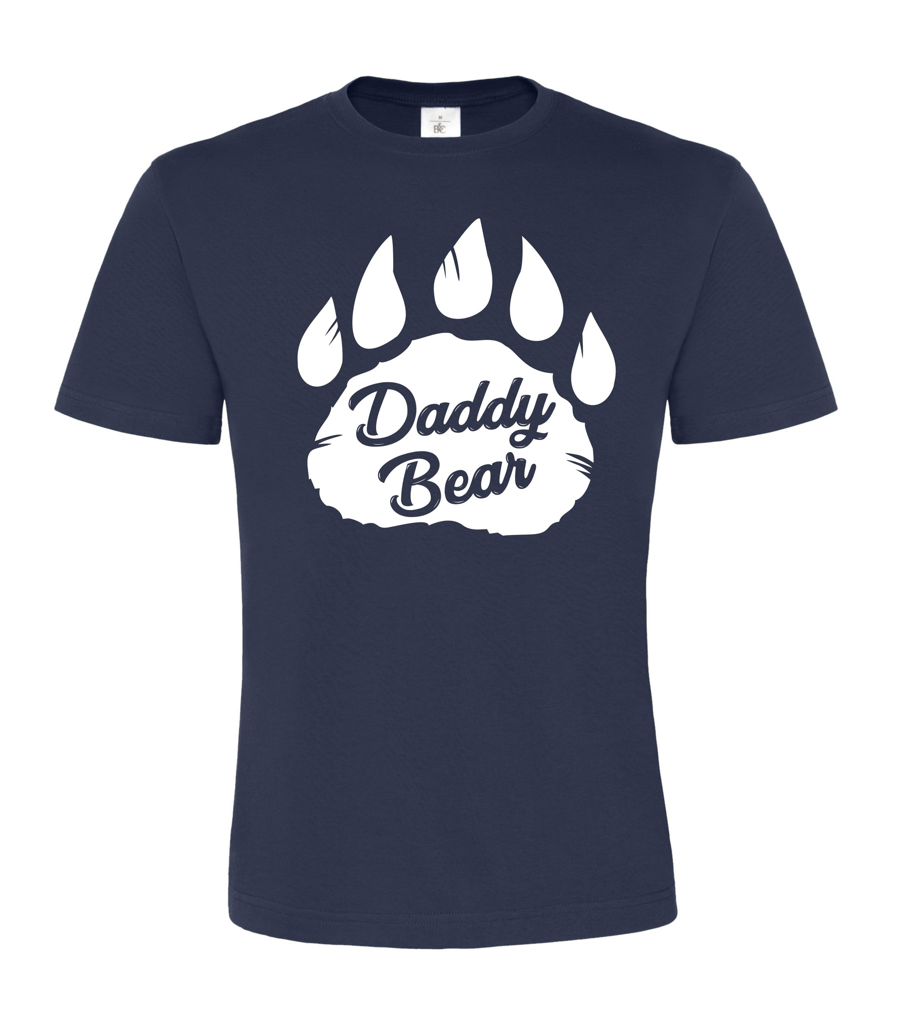 Daddy Bear Paw Unisex T Shirt