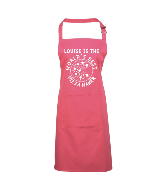 Personalised World's Best Pizza Maker Apron