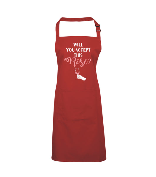 Accept this Rosé Apron