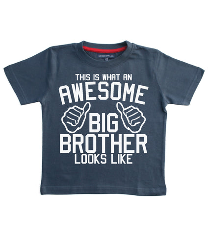 This is what an awesome Big Brother looks like Children's T-shirt
