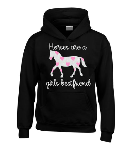 Horses are a girls best Friend (D2) Hoodie
