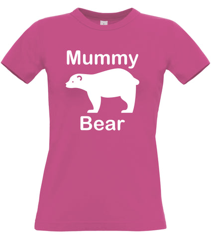 Mummy Bear Women's Fitted T-shirt