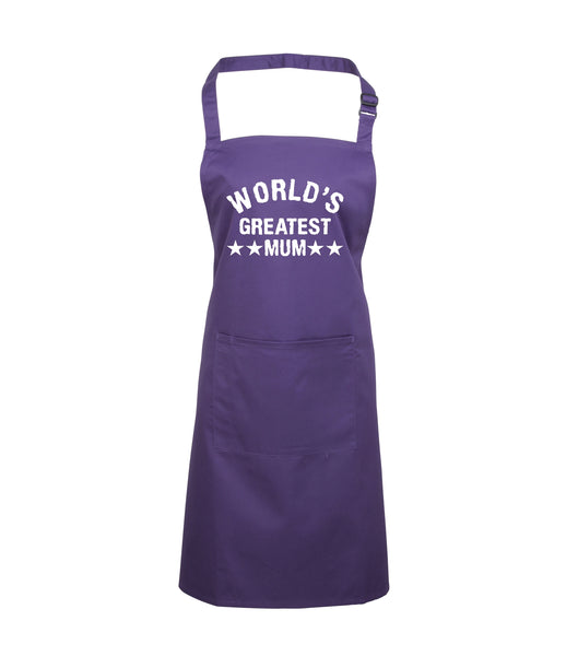 World's Greatest Mum Apron