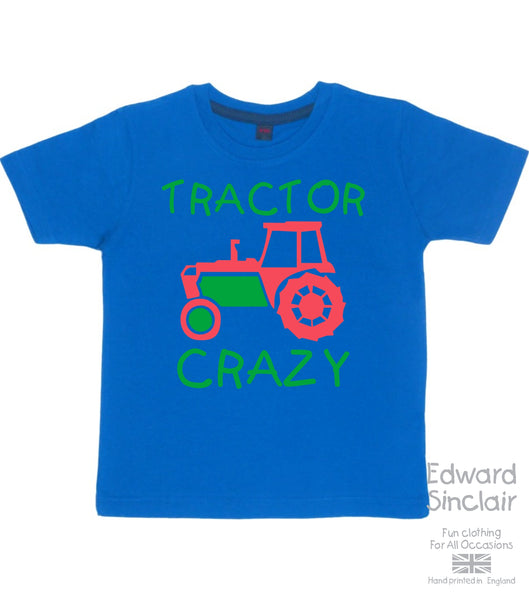 Tractor Crazy Children's T-shirt