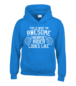 This Is What An Awesome Horse Rider Looks Like Hoodie