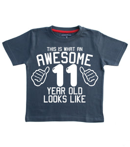 This is What An Awesome 11 Year Old Looks Like Children's T-Shirt