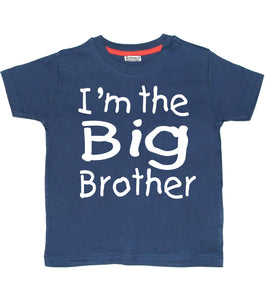 I'm the Big Brother Navy Children's T-Shirt