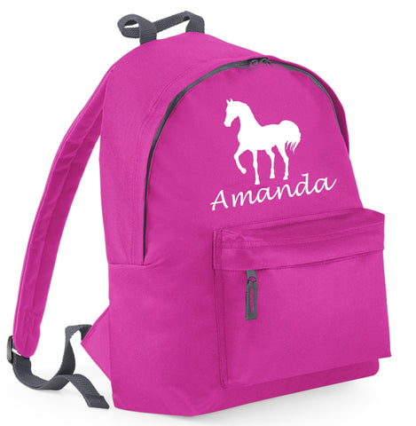 Personalised Horse Backpack