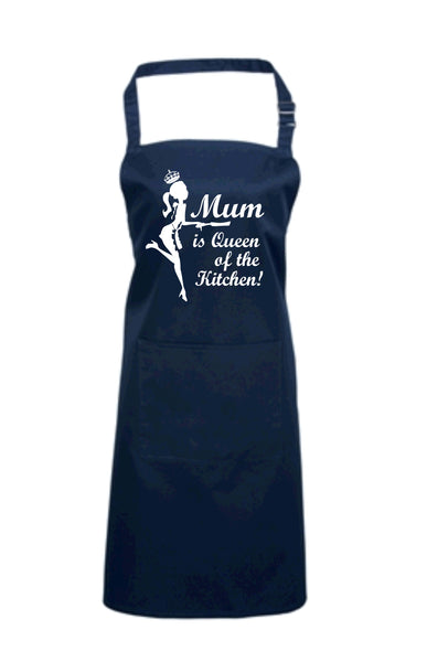 Mum is Queen of the Kitchen Apron