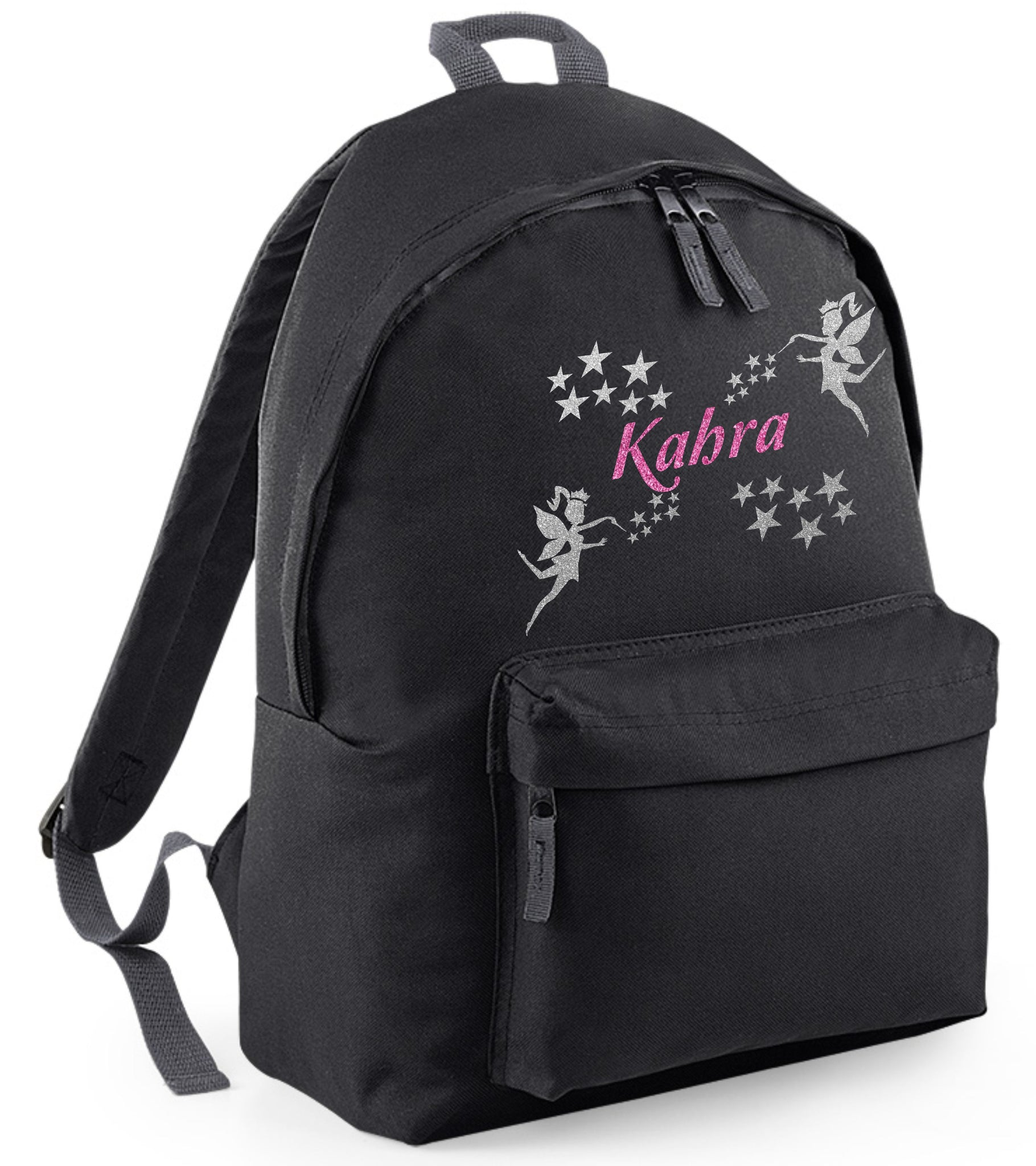 Personalised Fairy Backpack with Glitter Print