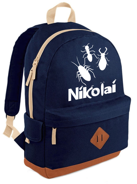 Personalised Insect Heritage Backpack