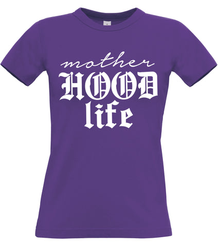 Mother Hood Life Women's Fitted T-Shirt