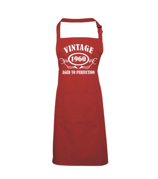 Personalised Year Vintage Apron