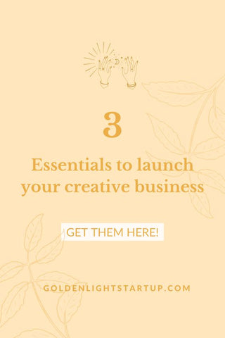3 Essentials For Starting Your Creative Business