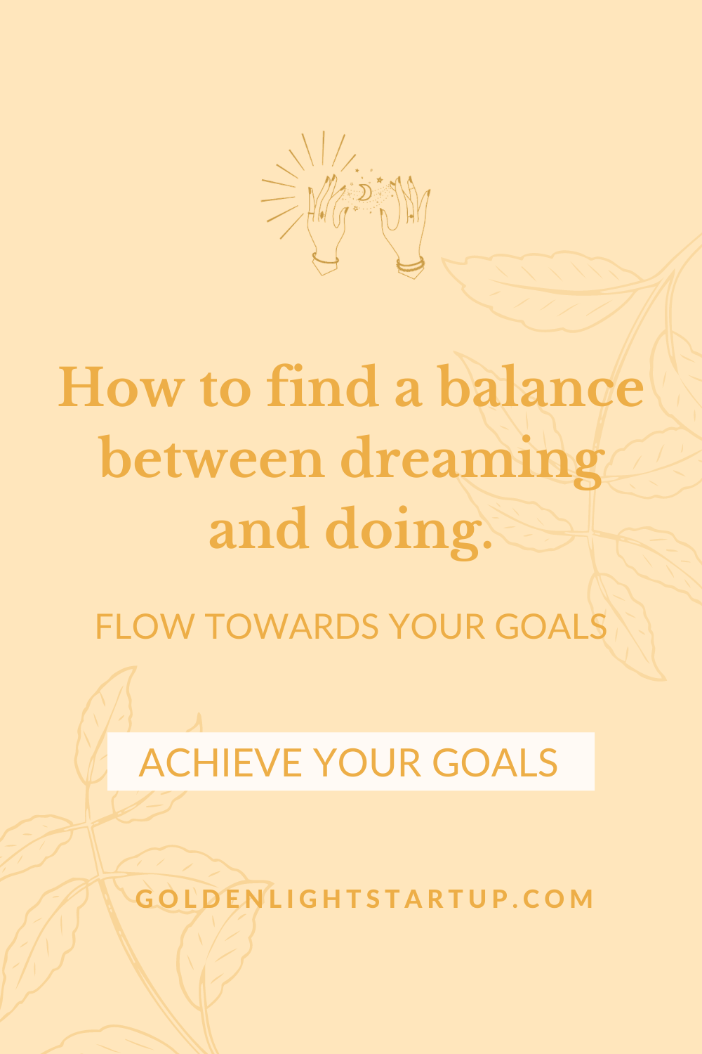 How To Flow Towards Your Goals