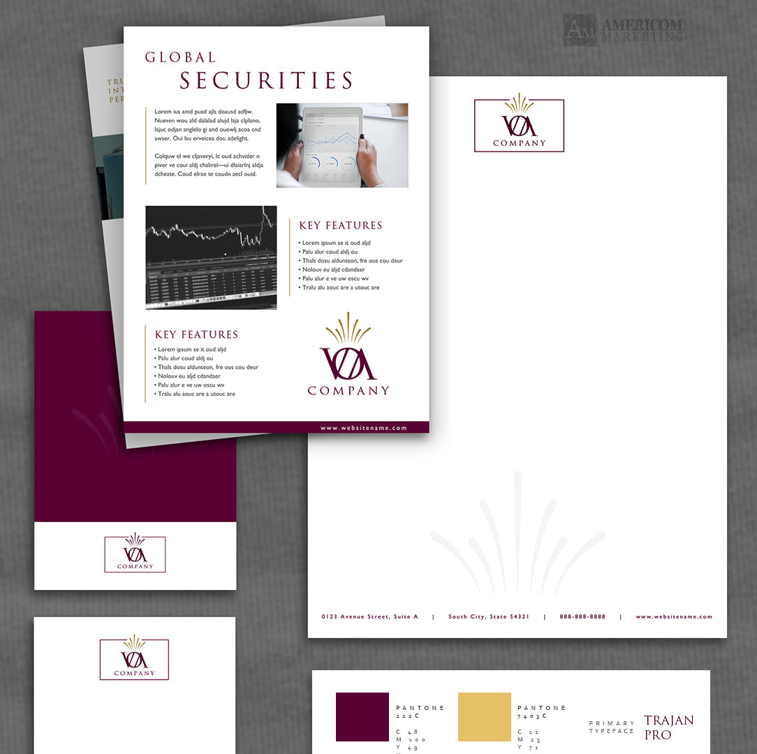 VOA Branding Package Example