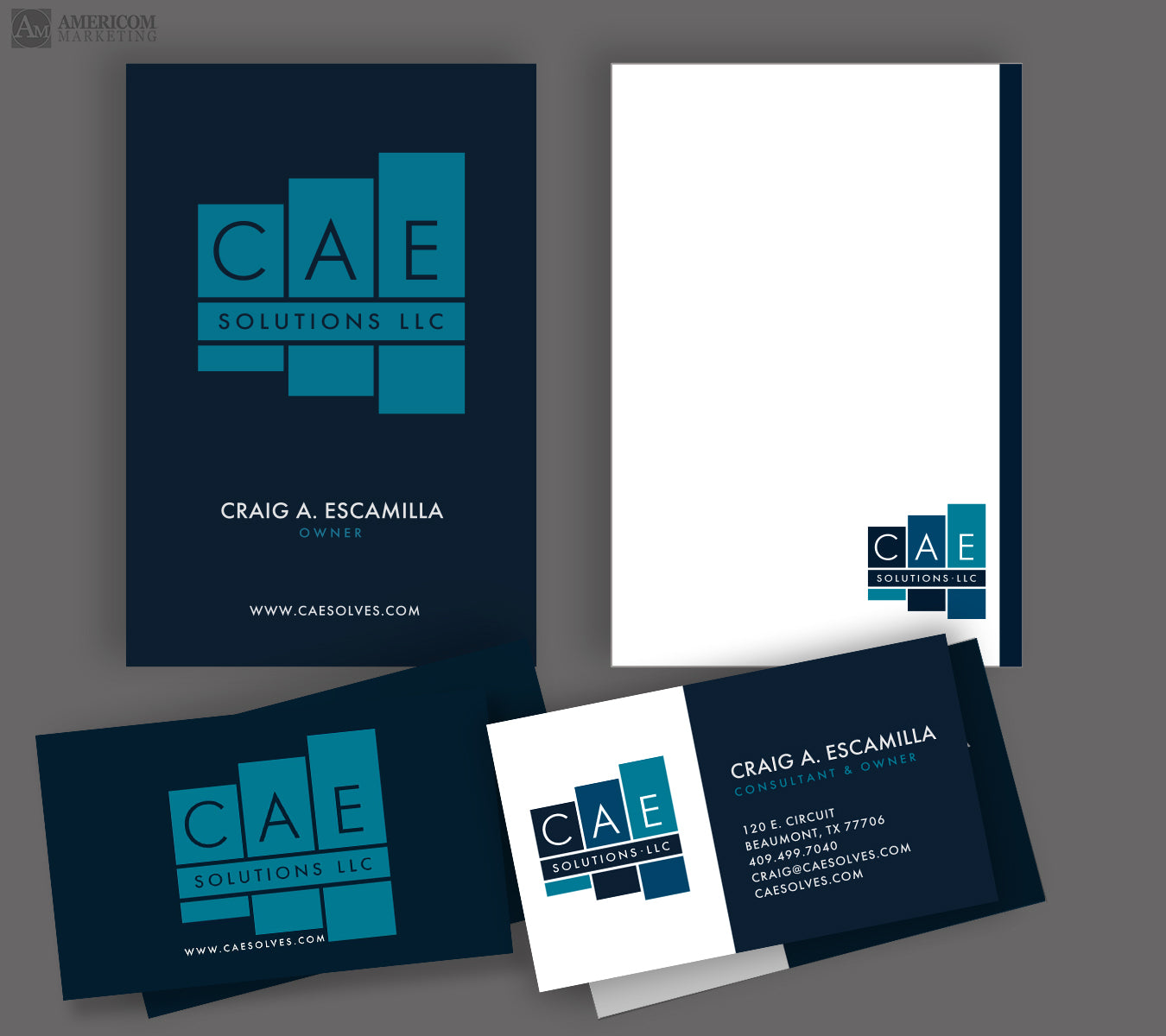 CAE Solutions Business Cards