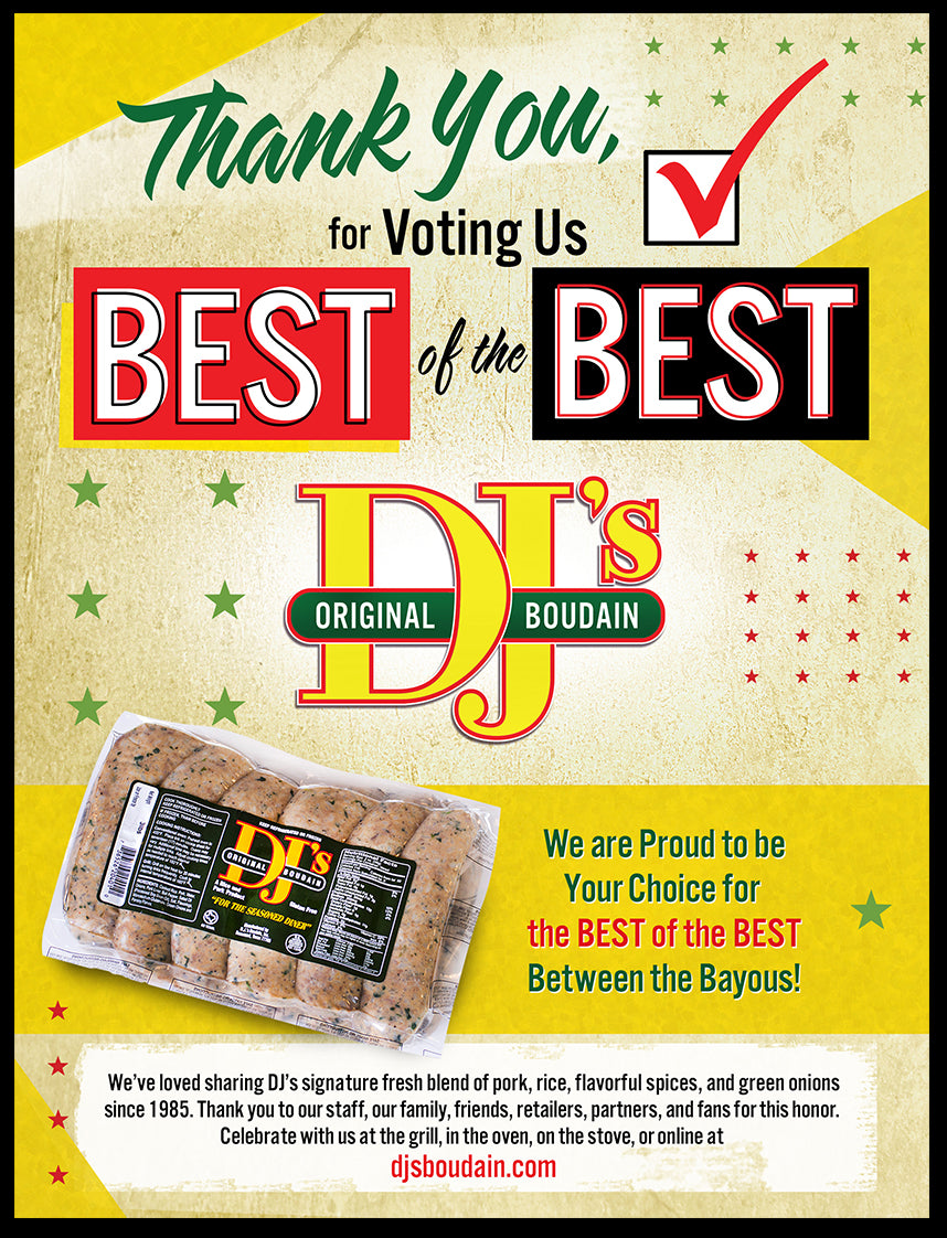 DJ's Boudain Voted Best of the Best