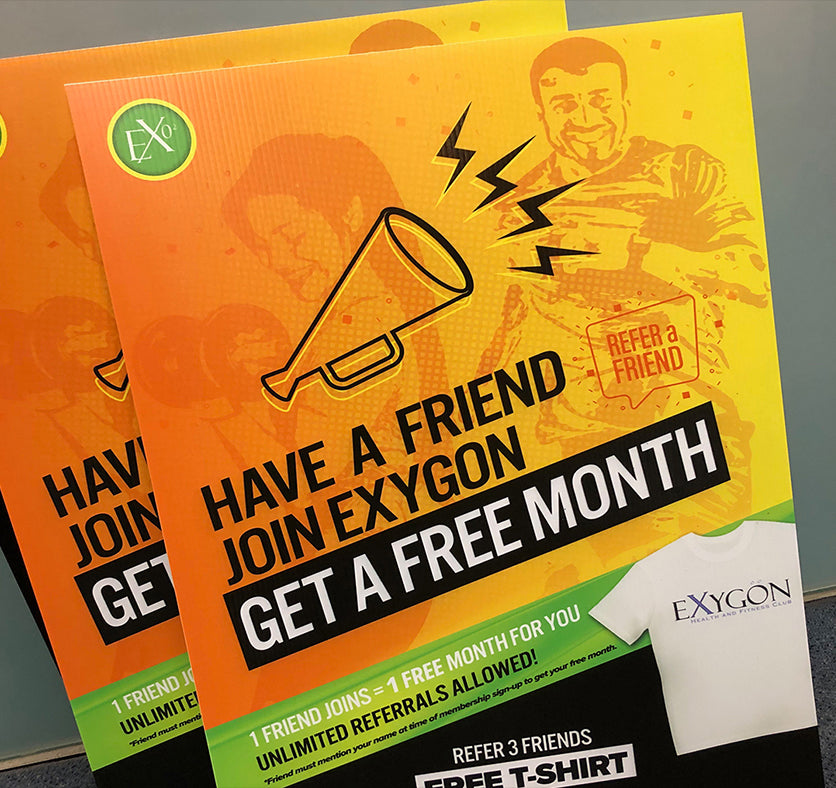 Exygon Health and Fitness Club Promotion