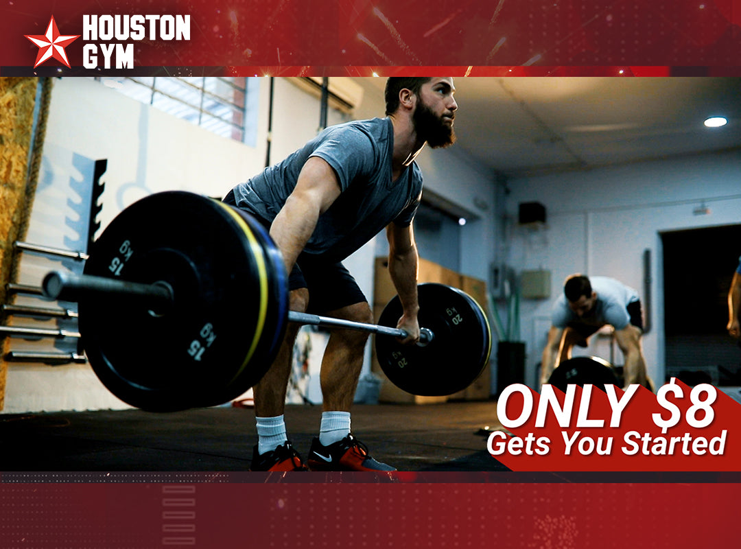 Houston Gym Only $8 Gets You Started
