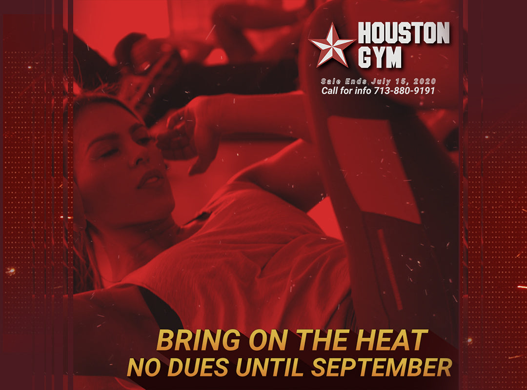 Houston Gym No Dues Until September