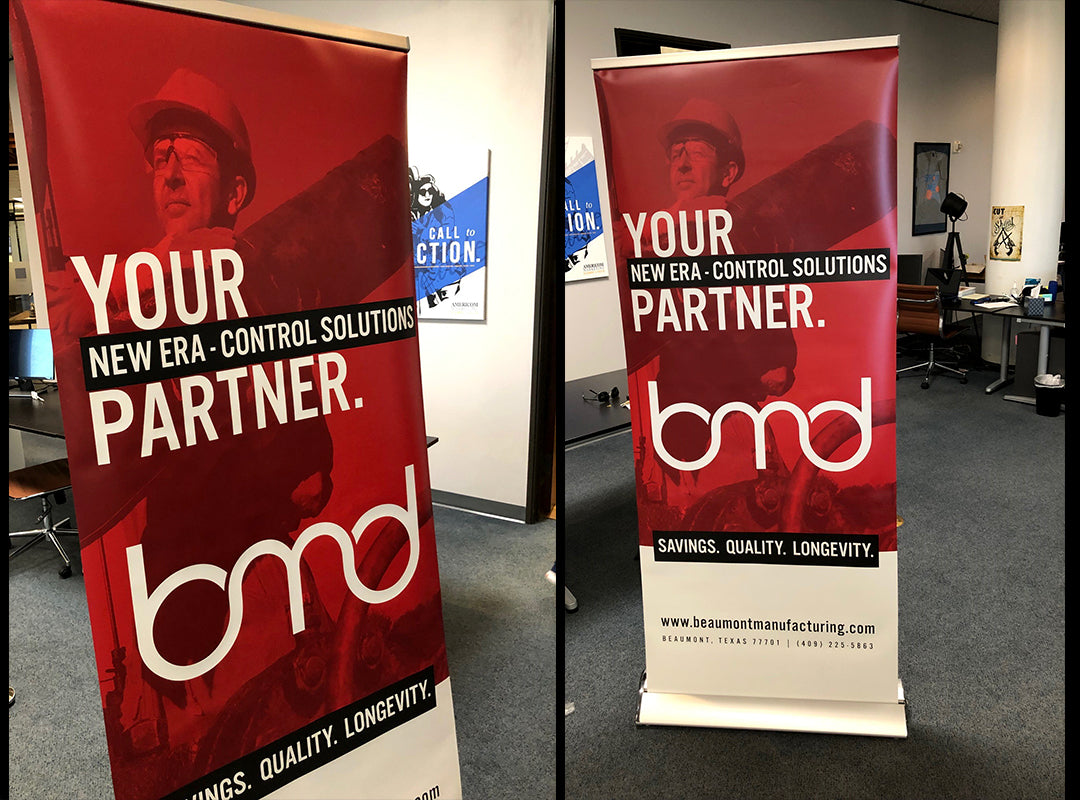 Beaumont Manuacturing and Distribution Company Banners