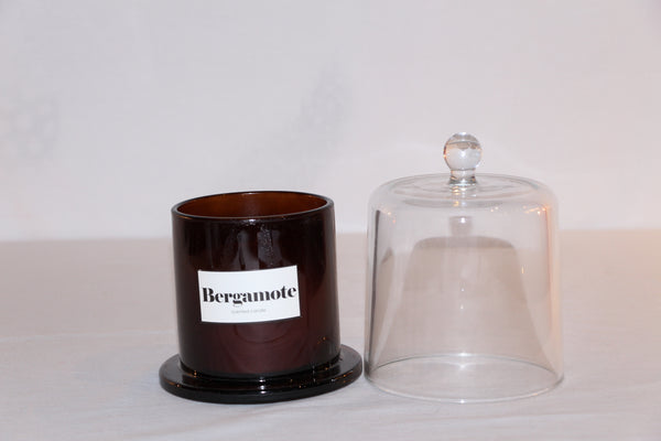 BOUGIE CLOCHE AMBRE MINI BERGAMOTE PETILLANTE
