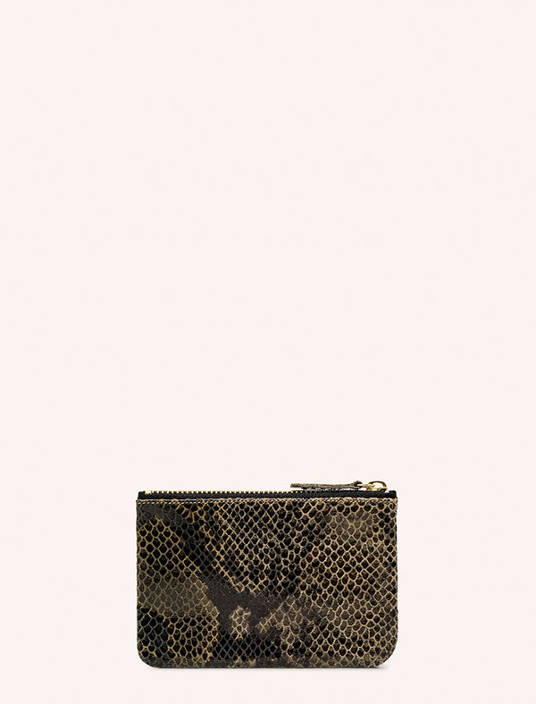 PORTE-MONNAIE STAR REPTILE OLIVE