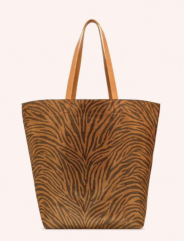 SAC LANER ZEBRE NATUREL