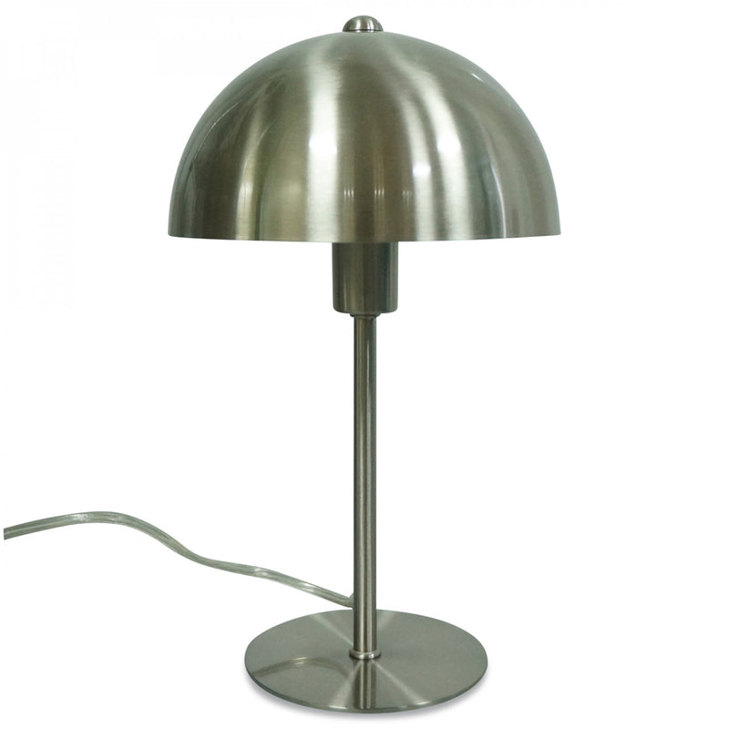 LAMPE AXEL METAL SATINE