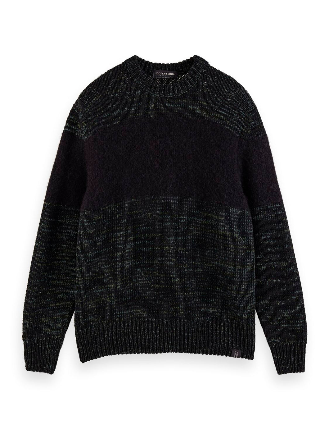 PULL EN LAINE CONTRASTEE - SCOTCH AND SODA