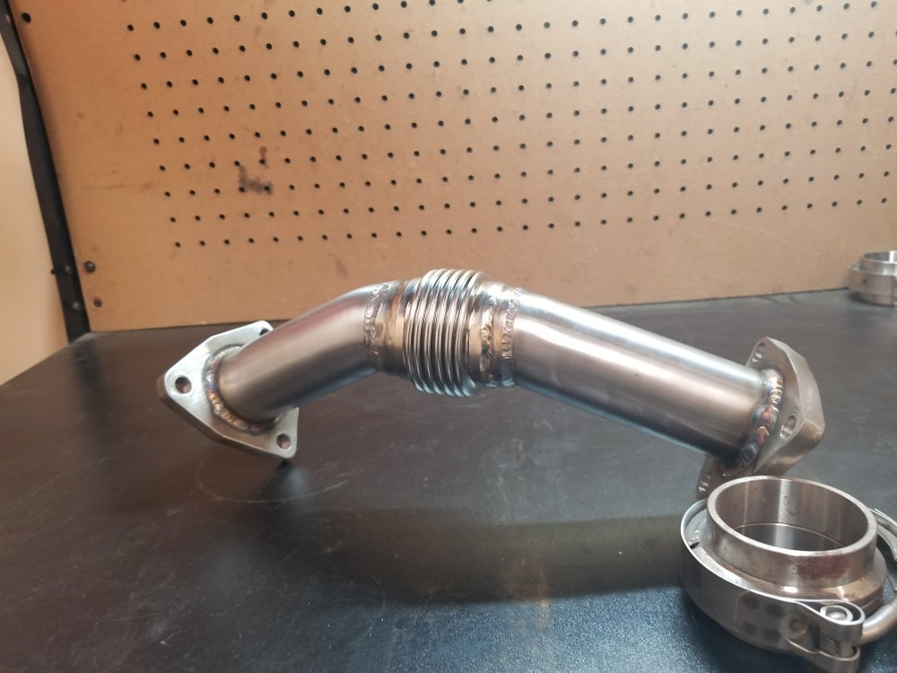 Z31 updated Crossover pipe