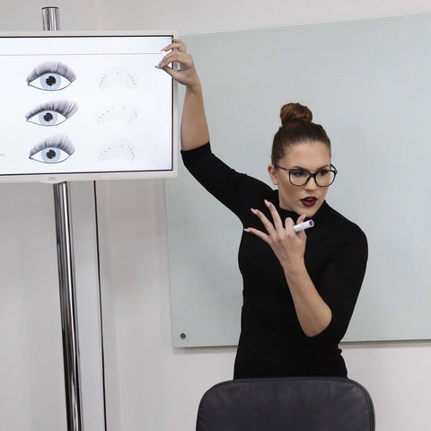 how to become a lash tech, lash training, Russian volume training course, how to become a lash tech