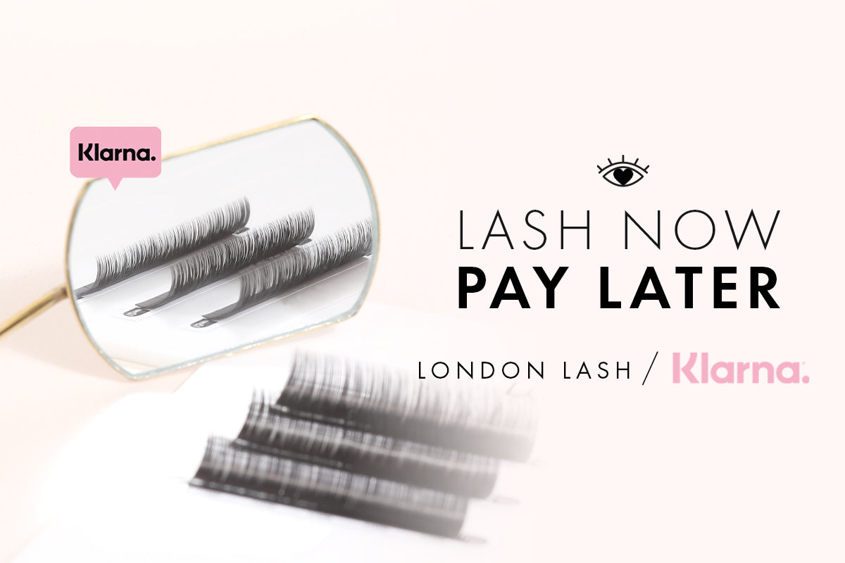 Klarna payments accepted with London Lash