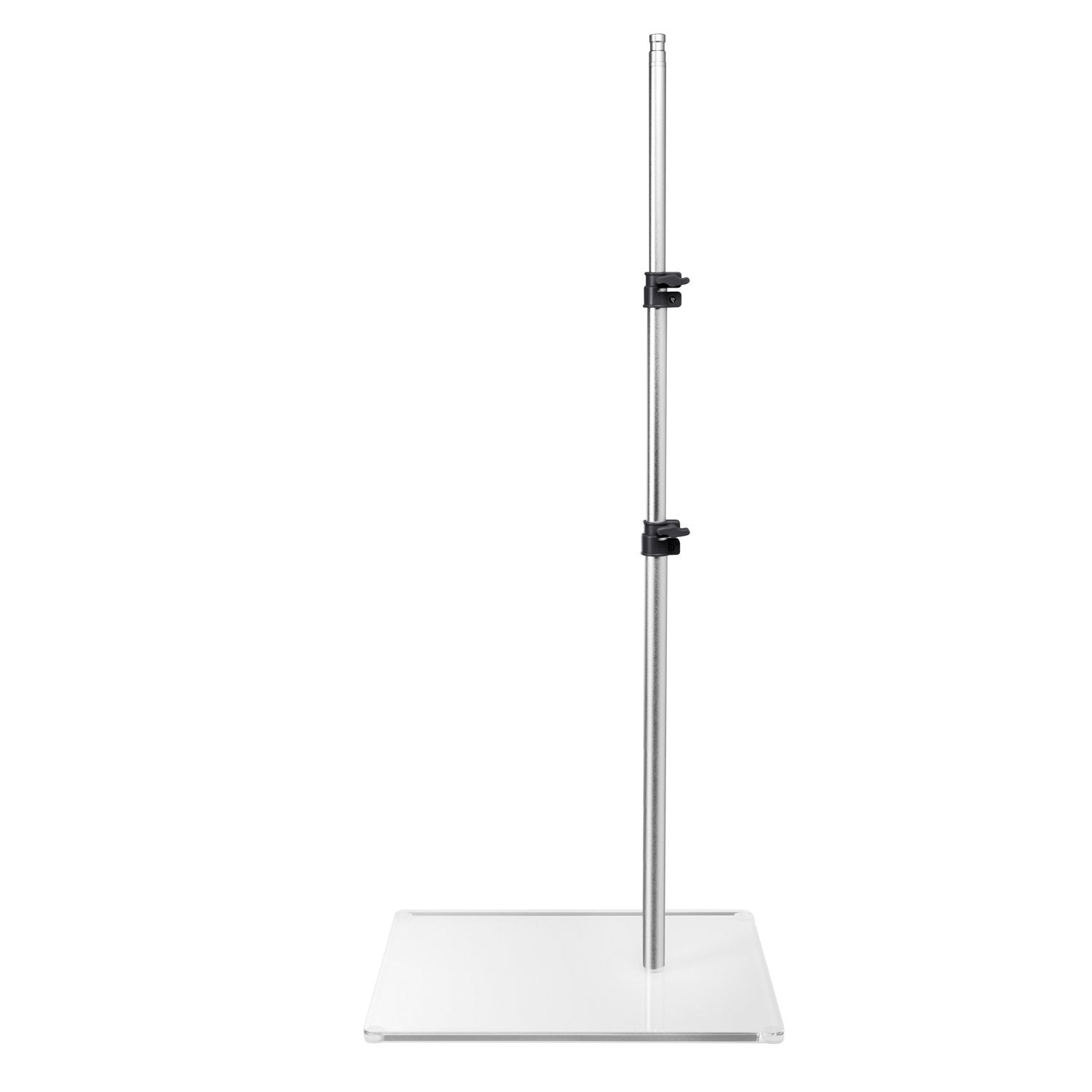 Universal Flat Base Stand, Best for permanent location (esp. studios and salons) where mobility is not a requirement. The low profile base provides more foot and leg room and takes up less floor space. Excellent for any work performed on esthetician beds or tattoo client chairs/beds
