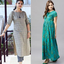 Load image into Gallery viewer, Pack Of 2 Party Wear Printed Kurtis