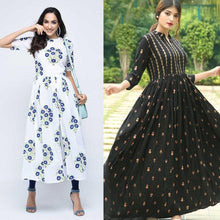 Load image into Gallery viewer, Pack Of 2 Stunning Kurtis